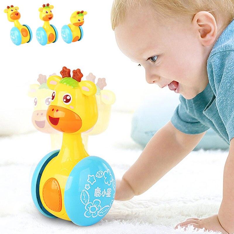 Mainan bayi menyeronokkan sedikit bunyi loceng bola mainan bayi - Mainan untuk kanak-kanak - Foto 6