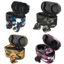 업데이트 색상 Sabbat X12 Ultra Camouflage TWS True Wireless 5.0 블루투스 헤드셋 이어폰 스테레오 이어 버드 무선 이어폰