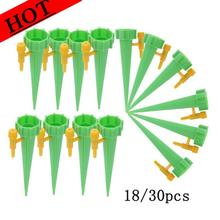 30pcs Self-contained Auto Drip Irrigation Watering Potted System Automatic Watering Spike Kit for Plants Flower Indoor Household cheap CN(Origin) Plastic Watering Kits 135*35*35mm 5 31*1 38*1 38 PE bag garden supplies Drip Irrigation Watering System Irrigation system