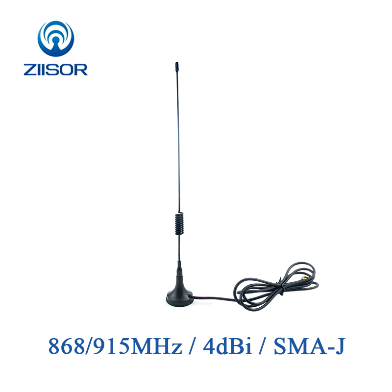 Lora 900MHz <font><b>868MHz</b></font> <font><b>915MHz</b></font> <font><b>Antenna</b></font> with Magnetic Base SMA Male Omni <font><b>Antenna</b></font> 1m 2m Pigtail Antena DTU Aerial TX900-XPL-100(23) image