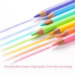 Macarons Color Pencil Creative Colors Pencil Wood 12 Color 24 Color Art Drawing Pencil Color Pencils Profesional Art Supplies