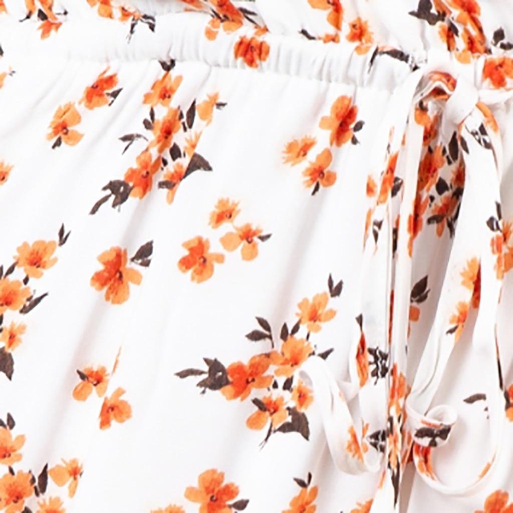vestido de mujer Women s Spring And Summer Fashion Casual Printing Bohemian Female Dress femme robe