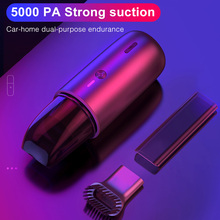 5000Pa Mini Vacuum Cleaner Wireless Portable Handheld Super suction Low noise Vacuum Cleaners for Car Interior Cleaning Cleaner vertical vacuum cleaner bosch bbh216 wireless dustcontainer cleaners for home