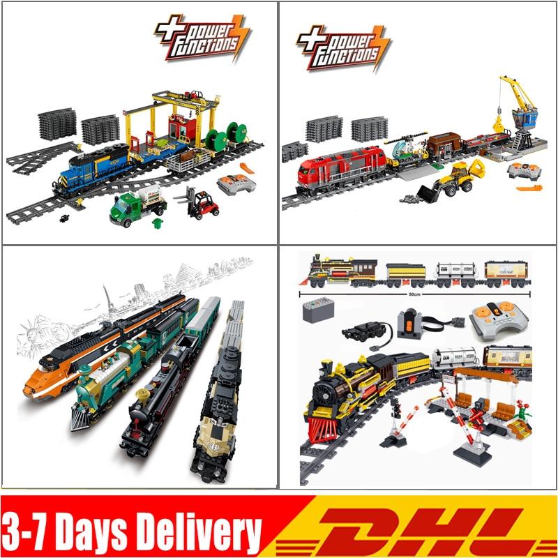 IN Stock City Train Blocks Motor Remote 02008 02009 98223 QL0313  Compatible 60052 60098 Buillding Blocks Bricks Blocks Toys