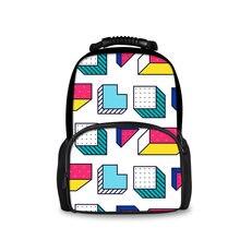 Модный милый молодежный рюкзак с графическим принтом для мальчиков