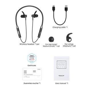 Image 5 - NILLKIN Wireless Magnetic Flexible Neckband Earbud IPX4 waterproof Sport Stereo For iPhone Samsung Xiaomi Bluetooth 5.0 Earphone