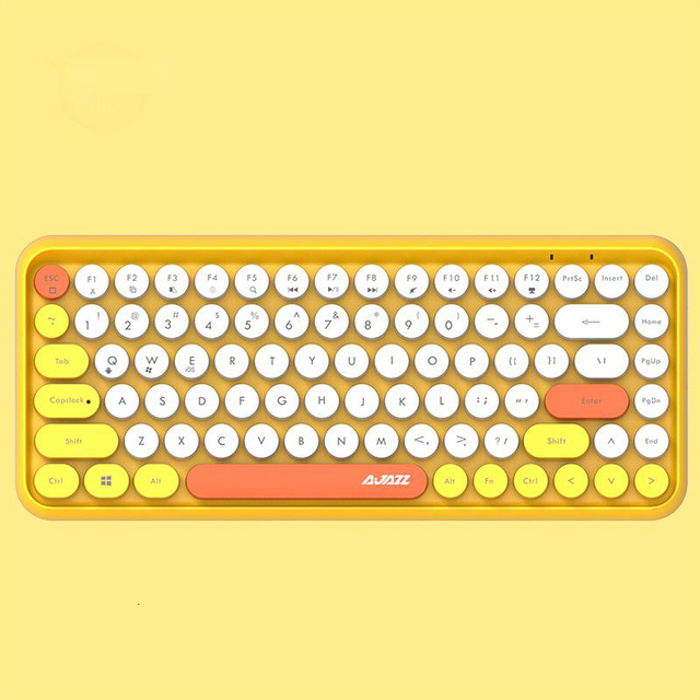 Купить seenda bluetooth клавиатура ретро пластик панель красочные границы картинки