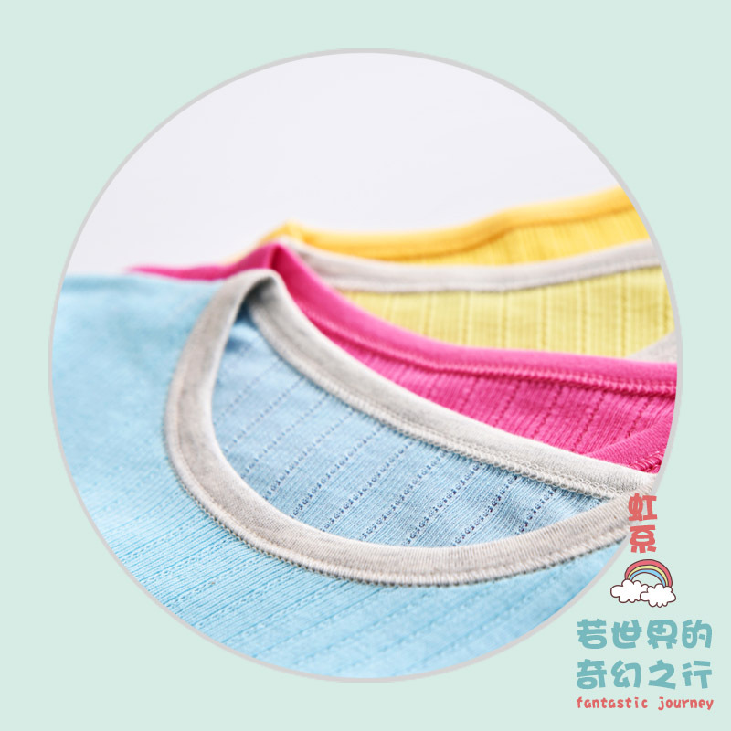 Baby Nightgown Pure Cotton Short Sleeve Tracksuit Infant Children Men And Women Pajamas Nightgown Air-conditioned Room Summer Th