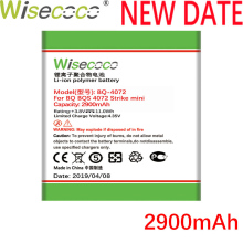 Wisecoco BQ-4072 2900mAh Newly Production Battery For BQ BQ-4072 BQs-4072 Strike mini Phone Battery Replacement+Tracking Number все цены