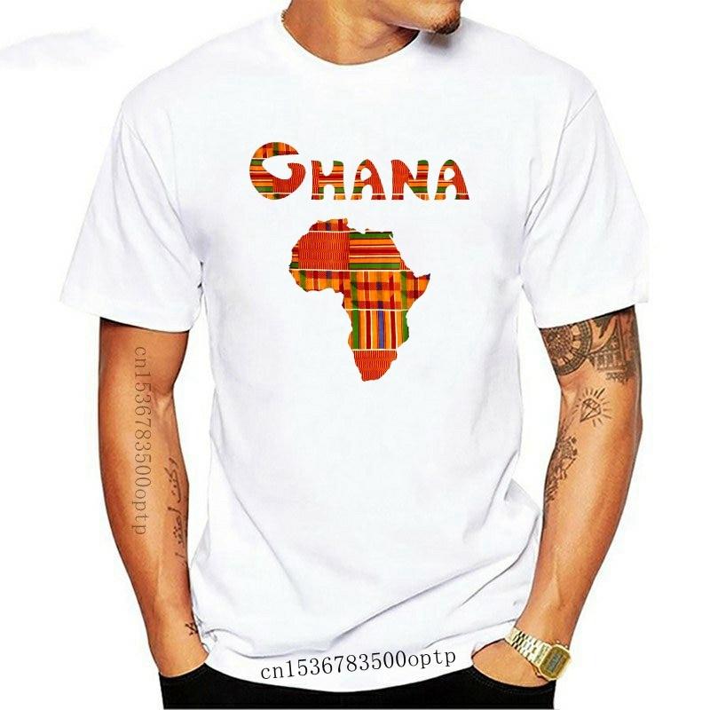 Funny t shirt men novelty women tshirt Ghana Shirt Ghana Tee Ghana T Shirt Africa Map Kente