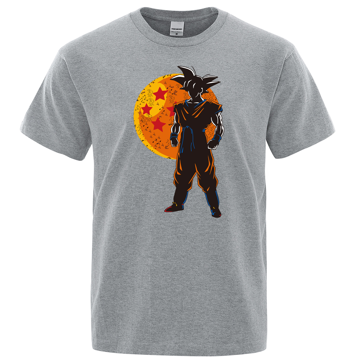 Men's T Shirts 2019 Summer Short Sleeve Men TShirt Japanese Anime Dragon Ball Z Tops Tee Fashion Harajuku 100% Cotton T-shirt