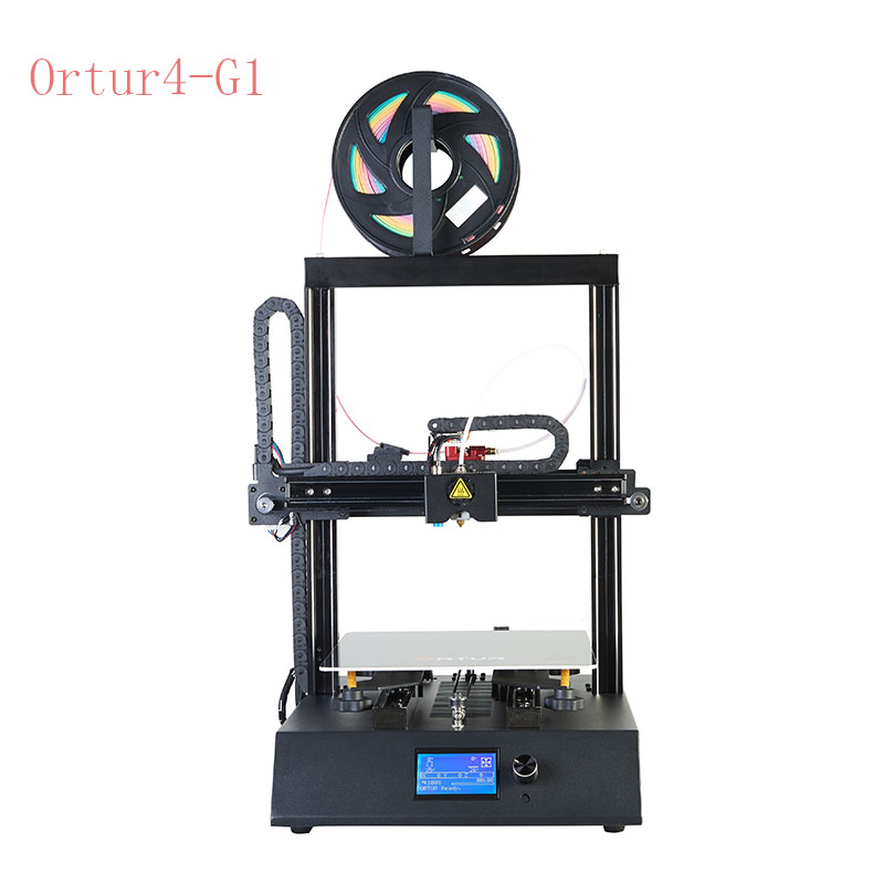 New Portable High Precision Black Full Metal Steel Casing GRS Linear Guide Rail Home Use Fast Install Impressora 3D Printer in 3D Printers from Computer Office