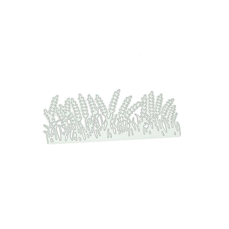 ЙК резки металла умирает подлеска травы для скрапбукинг ремесло 2020 Новая конструкция вырубной карта трафарет сделать лист типовой формы декор
