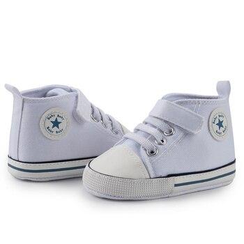 Canvas Classic Sports Shoes Newborn Baby Boys Girls  2