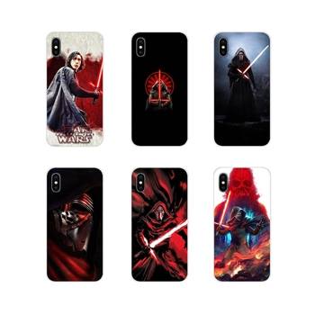 Soft Transparent Case popular movie star wars Kylo Ren For Apple iPhone X XR XS 11Pro MAX 4S 5S 5C SE 6S 7 8 Plus ipod touch 5 6
