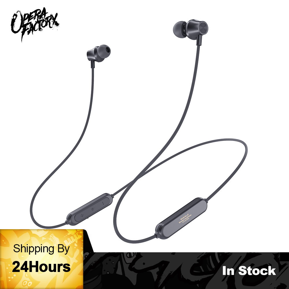 Whizzer J2 Bluetooth Earphone Wireless headphone Magnet Earbuds With Microphone Stereo Auriculares Bluetooth Earpiece for Phone