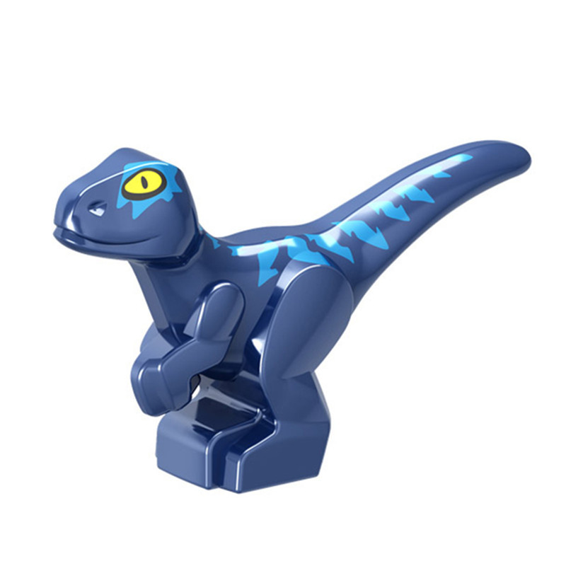 Image 5 - 7Pcs Jurassic World Park Dinosaurs Indoraptor Pterosauria Egg Baby Dino Building Block Bricks City Assembly Toys For Children-in Blocks from Toys & Hobbies