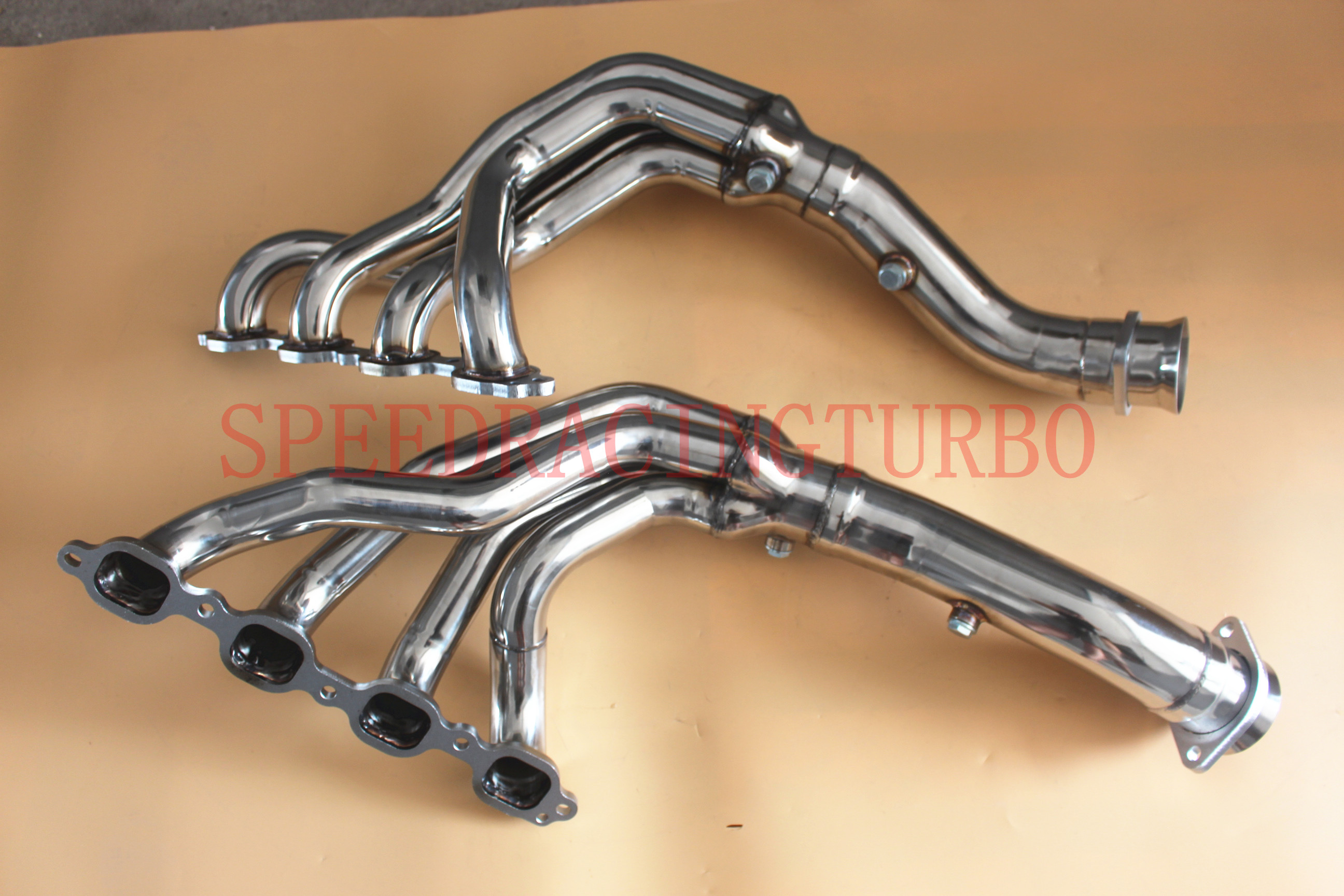 Stainless Exhaust Headers Manifolds /& X Pipe FOR Chevy Corvette 5.7L OHV
