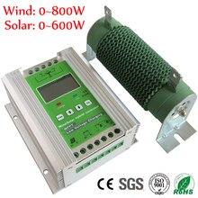 1400 Вт MPPT ветряной солнечный гибридный контроллер заряда 12 в 24 В применяется для 800 Вт 600 Вт ветряной турбины Генератор+ 600 Вт 400 Вт солнечные панели