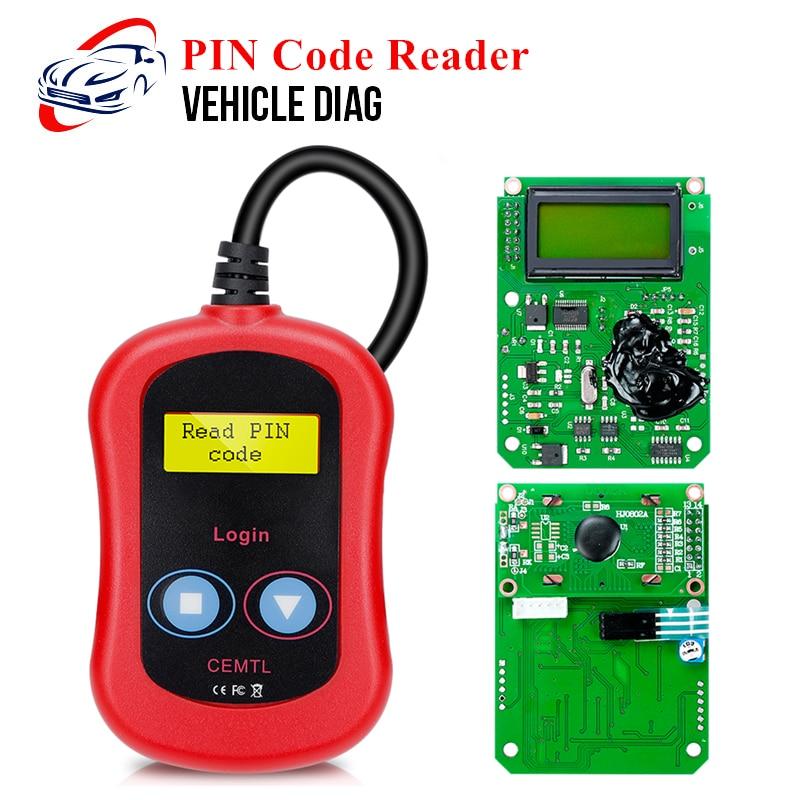 Untuk Vag Kunci Login OBD Kunci Programmer Membaca Kode PIN untuk Program Remote dan Importir untuk Audi/Kursi skoda