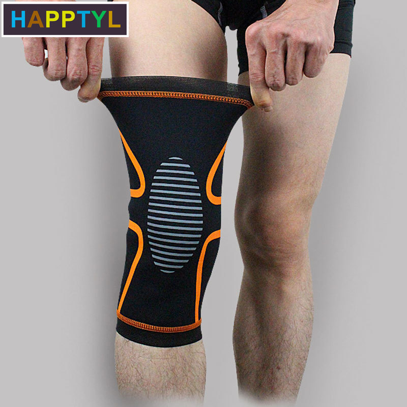HAPPTYL 1Pcs Knee Brace Support Compression Sleeve Knee Protector For Meniscus Tear, Arthritis, ACL, Joint Pain Relief