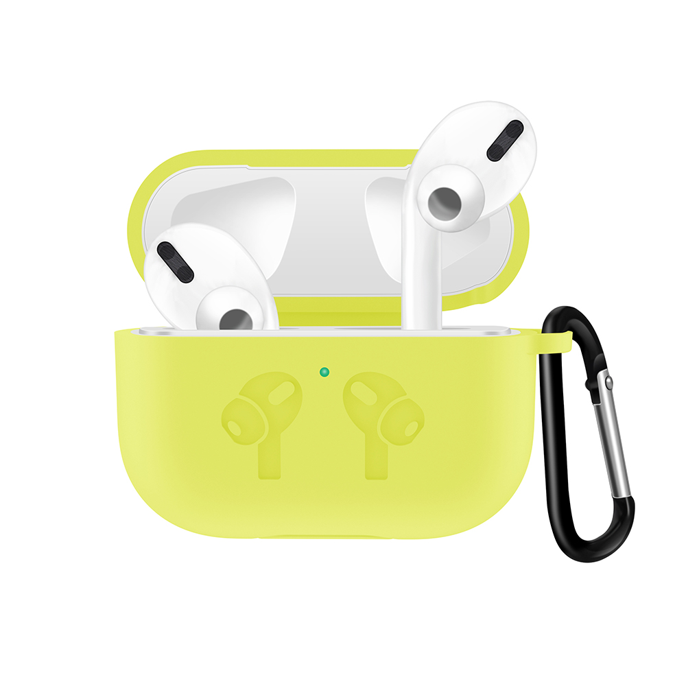 Silicone Case with Anti Lost Buckle for AirPods Pro 30