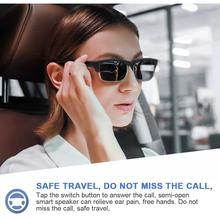 K2 Bluetooth 5.0 Sunglasses Outdoor Smart Bluetooth Glasses Wireless Sport Headset With Microphone Anti-Blue Sunglasses