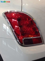 For Chevrolet Trax Tracker 2014 2015 2016 2017 2018 Chrome Rear Light Lamp Cover Trim Taillight Frame Trims Car Accessories