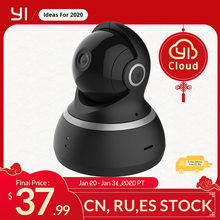 Yi Dome Camera 1080P Pan/Tilt/Zoom Wireless Ip Security Surveillance Systeem Compleet 360 Graden Dekking Night vision Black(China)