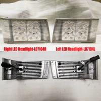 1 Pair Headlight  include Left Corner + Right Corner LED Headlight For Case IH Magnum Tractors 7110 7120 7130 7140 7150 Light Bar/Work Light    -