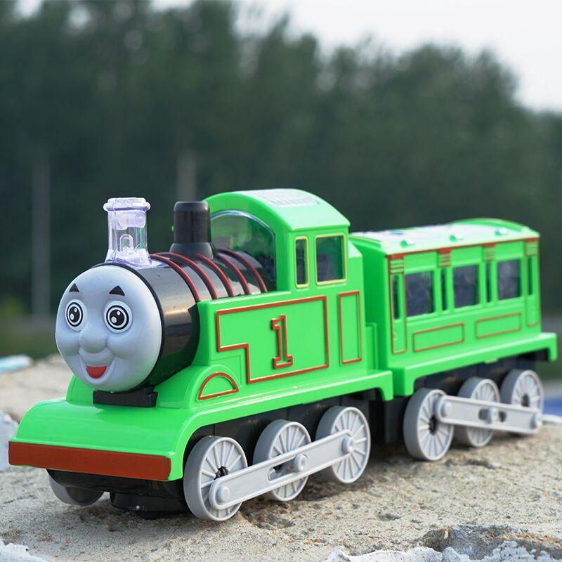 Children'S Educational Electric Train Toy Car Train Toy Electric Universal Train Baby Small Train Kids