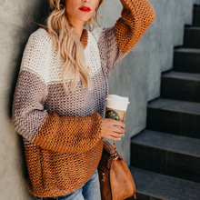 women sweater plus size girls fashion o-neck computer knitted gray sweaters harajuku pullovers christmas