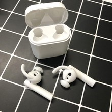 2 Pair Silicone In-ear Headset Earbuds Cover for Xiaomi Airdots Pro 2 Air 2 TWS Earphone Case Eartips Hook for Airdots Accessory
