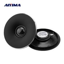 AIYIMA 2PCS 4 Inch Tweeter 8 Ohm 30W Silk Film Audio Speaker Neodymium Magnet Loudspeaker Speaker Amplifier Home Sound Theater