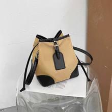 Осенне зимние сумки через плечо в стиле пэчворк для женщин 2020