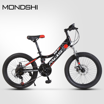 Mondshi20 inch mountain bike 21 speed disc brake shock absorption front fork 1