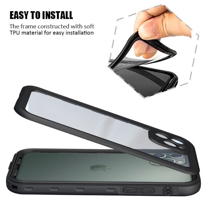 Waterproof Phone Case For iPhone 11 Pro Max (5)