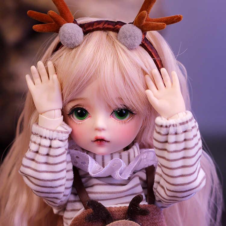 Muñeca bjd de 30cm, gran oferta, muñeca Reborn con ropa que cambia de ojos, DIY para muñecas, regalo del Día de la mejor San Valentín, muñeca hecha a mano Nemee