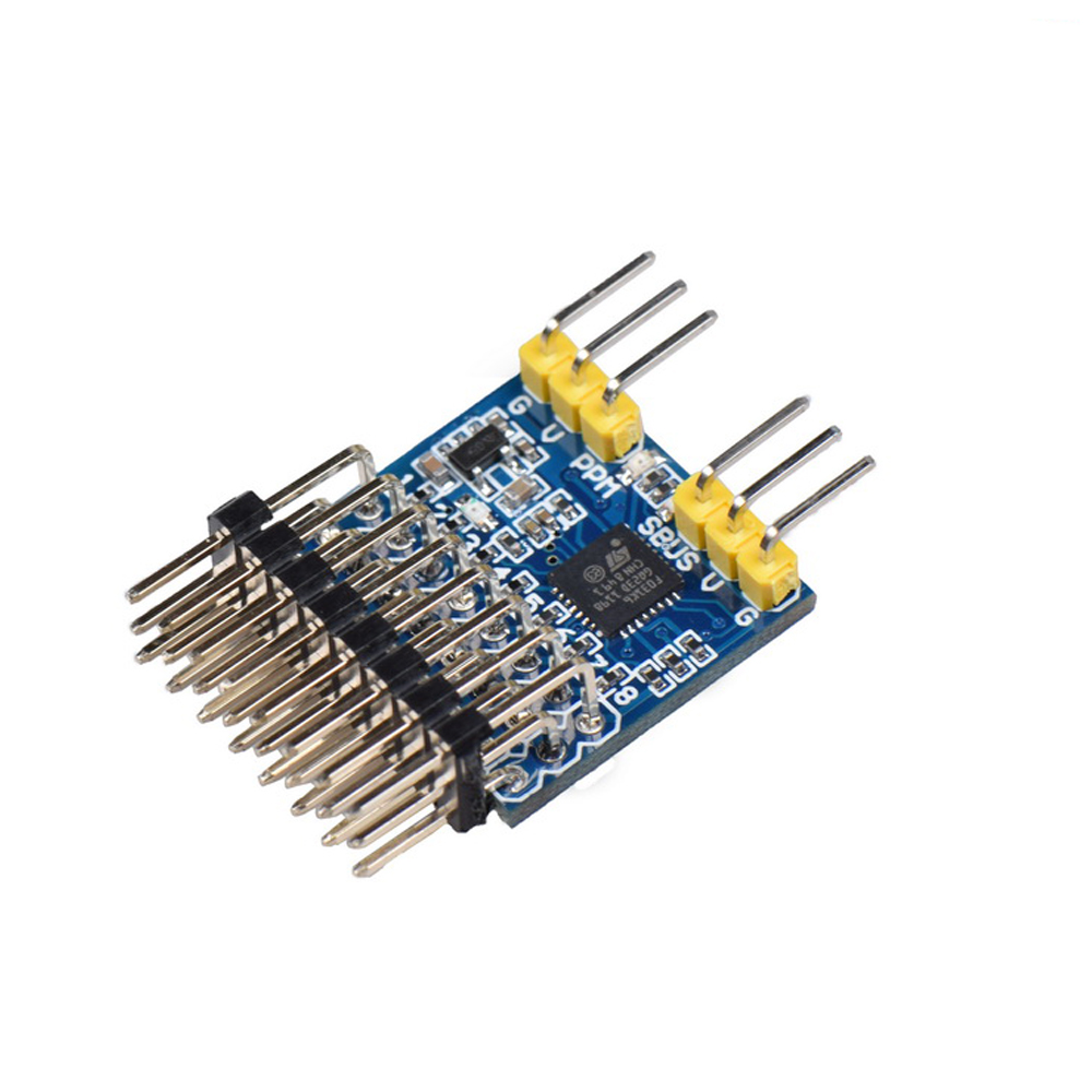 JHEMCU SPP 8CH Signal Converter Module Support SBUS PPM PWM Output For Flysky IA6B Frsky X8R Receiver RC FPV Drone