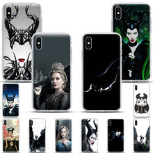 Maleficent Mistress Of Evil SOFT TPU Silicone Phone Case for iphone 11 11Pro XSMax X XR XS 7 8 6s Plus 5s 4 Angelina Jolie cover(China)