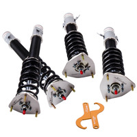 24 Ways Adjustable Damper Coilovers Shock Absober for Subaru Impreza GDA GDB 2002 2007