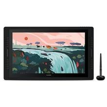 Huion Kamvas Pro 24 23.8 inch Pen Display  2K QHD Graphic Tablet Monitor 120%s RGB Pen Tablet Monitor Dual Touch Bar 20 Keys