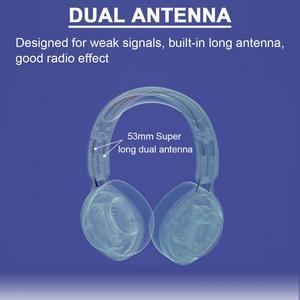 Image 5 - Retekess TR104 FM kulaklık radyo kulaklık alıcısı toplantı tren kilise çeviri simültane çeviri sistemi
