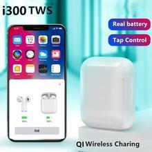 i300 TWS Wireless Bluetooth Headsets Charging Earphones Smart Sensor Bass Earbuds