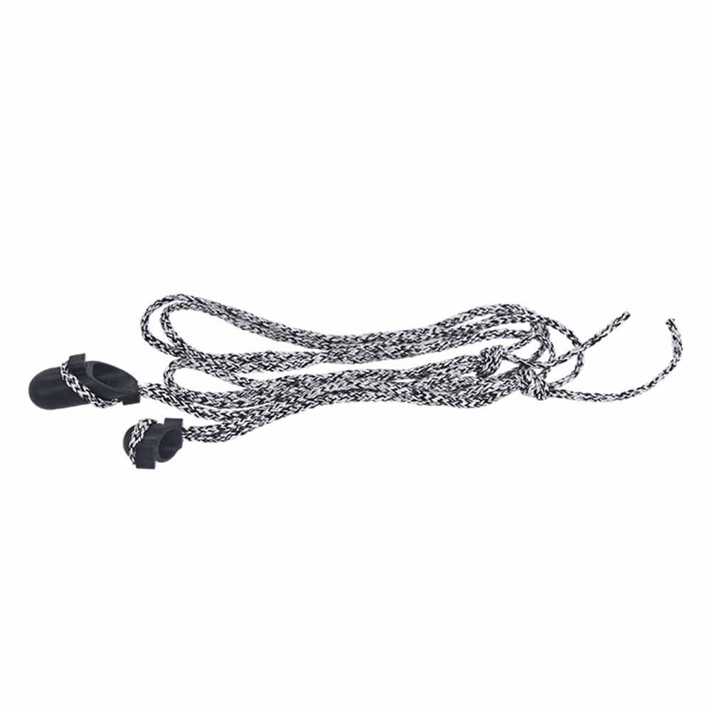 Dispositivo de ayuda de arco fuerte 208cm negro gris Nylon cuerda flecha accesorios pantógrafo accesorios Bowstring ballesta cuerda deportes al aire libre