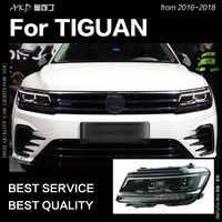 AKD Car Styling for VW Tiguan Headlights 2017 New Tiguan L LED Headlight DRL Hid Head Lamp Angel Eye Bi Xenon Beam Accessories