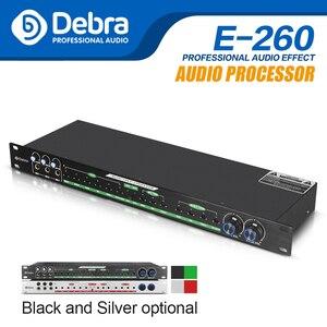 Alta qualidade! E-260 profissional ktv kalkaláudio mistura efeito de feedback música microfone processador som para festa palco