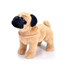 Simulation Plush pug dog soft stuffing dolls animal
