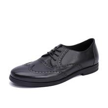 designer shoes men high quality Genuine Leather Shoes Lace-Up Business Men Shoes,Men Dress Shoes,Summer Oxfords Spring cowhide цена 2017