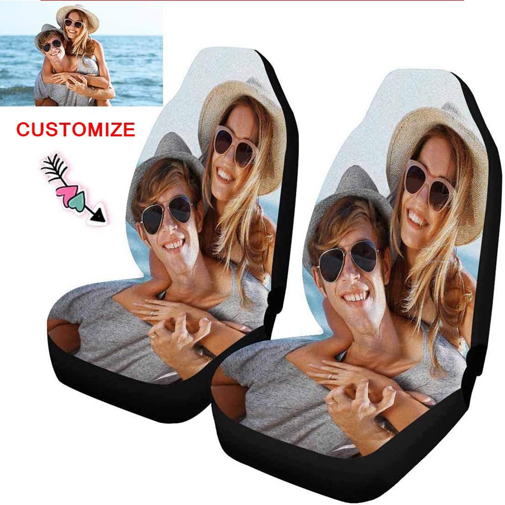 Купить чехлы на передние сиденья с принтом вашего логотипа/изображения